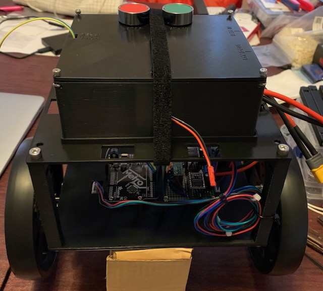 LiPo Protection Circuit Assembled on Robot