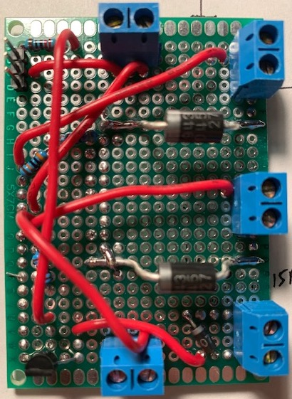 LiPo Protection Circuit Perfboard Top